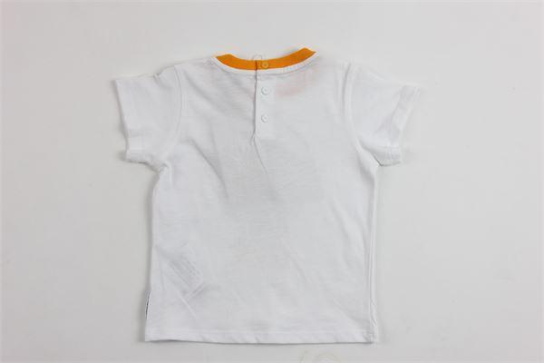 t-shirt mezza manica con stampa tigre ARMANI | T-shirts | 9143BIANCO