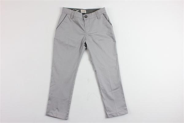 pantalone tinta unita tasca america ARMANI | Pantaloni | 9160GRIGIO