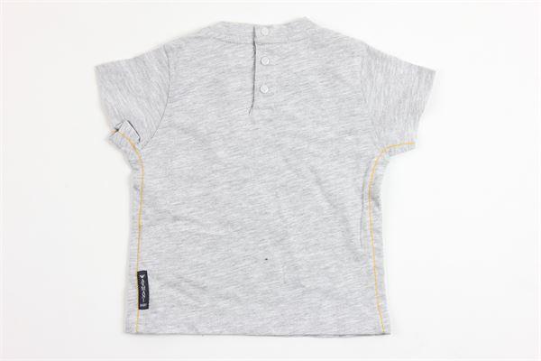 t-shirt mezza manica con stampa giraffa ARMANI | T-shirts | 9162GRIGIO