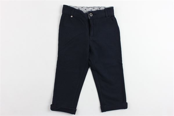 pantalone in felpa elastico in vita tinta unita ARMANI | Pantaloni | UDP51BLU