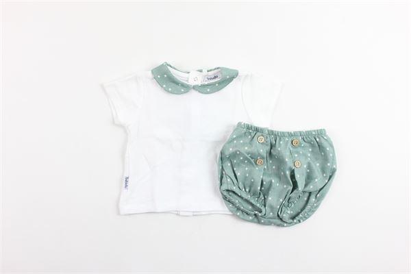 t-shirts mezza manica con coulotte BABIDU | Completi | 41443BIANCO
