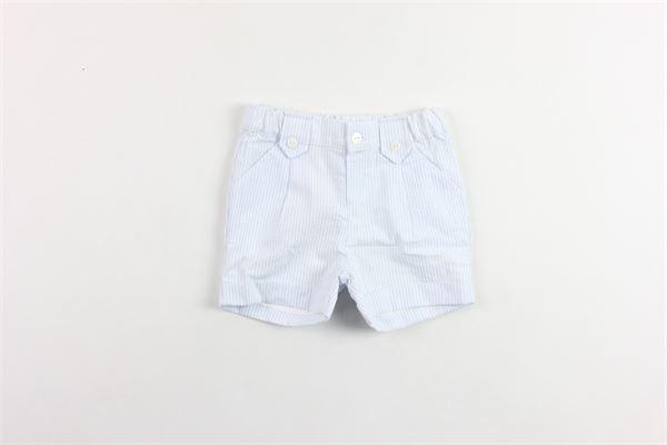 bermuda in cotone rigato tasca america PATACHOU   Bermuda   CL2833303AZZURRO