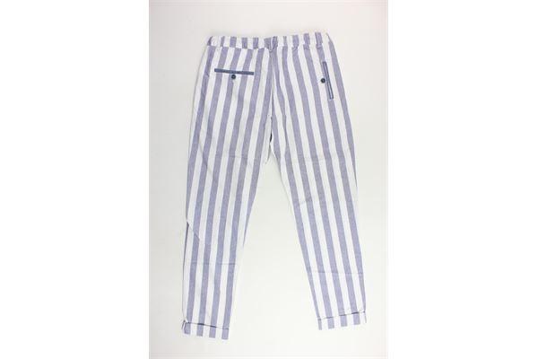 BERNA | Trousers | BRNS9012PABIANCO