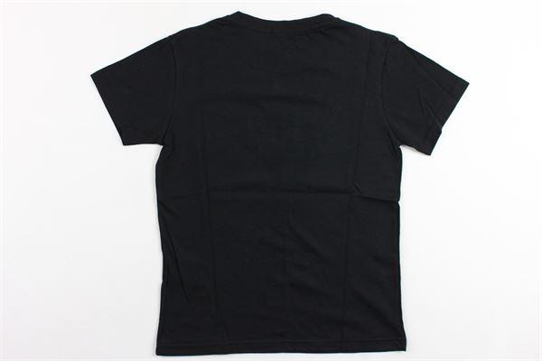 t-shirt mezza manica tinta unita con stampa BERNA | T-shirts | BRNS9037TSNERO