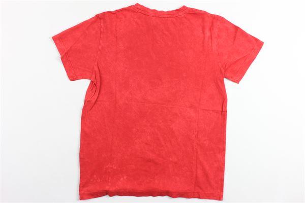 t-shirt mezza manica tinta unita con stampa BERNA | T-shirts | BRNS9075TSROSSO