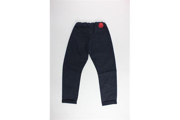 BERNA | Trousers | BRNS9086PABLU