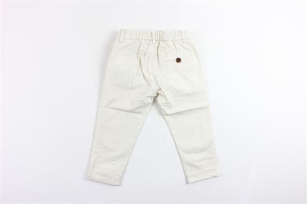 pantalone tinta unita tasca america elastico in vita BERWICH | Pantaloni | WMPA04BIANCO