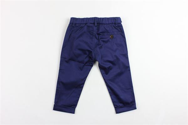 pantalone tasca america tinta unita elastico in vita BERWICH | Pantaloni | WMPA05RA84BLU