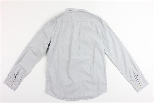 camcia manica lunga rigata BLAUER | Camicie | 16SBLKS01407004144GRIGIO