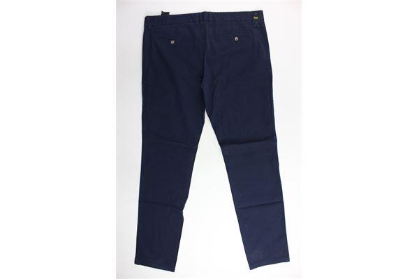 pantalone tinta unita tasca america BLAUER | Pantaloni | 16SBLUP01279004123BLU