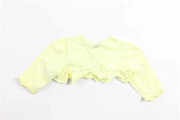 coprispalle manica lunga tinta unita in cotone BLUMARINE | Coprispalle | 42NCS51GIALLO