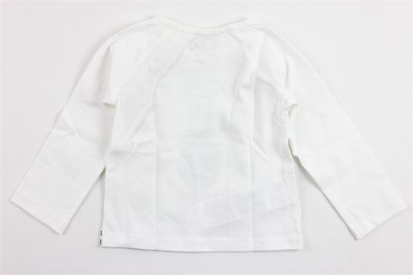 shirt manica lunga in cotone con stampa BOBOLI | Shirts | 126076BIANCO