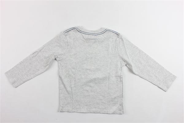 shirt manica lunga tinta unita con stampa BOBOLI | Shirts | 326023GRIGIO