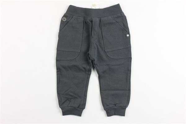pantalone elastico in vita in felpa garzato BOBOLI | Pantaloni | 394051GRIGIO