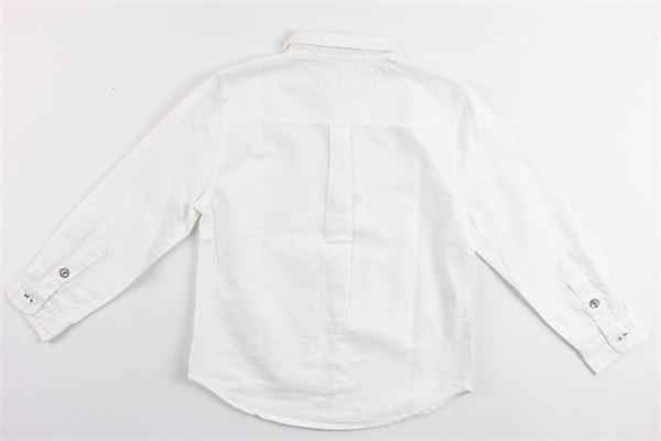 camicia manica lunga tinta unita BOBOLI | Camicie | 734004BIANCO