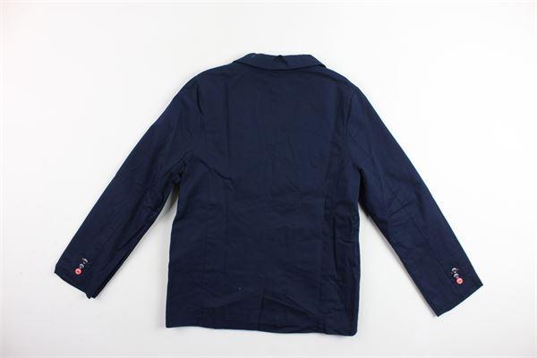 giacca sfoderata tinta unita BOBOLI | Giacche | 735162BLU
