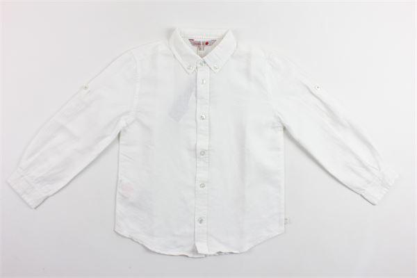 camicia manica lunga tinta unita BOBOLI | Camicie | 737007BIANCO