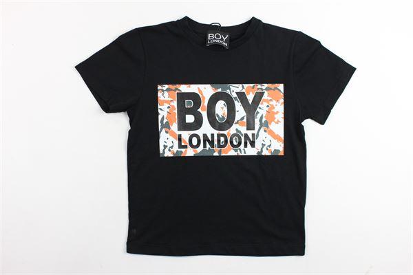 t-shirt mezza manica in cotone con stampa boy london BOY LONDON | T-shirt | TSBL9119JNERO