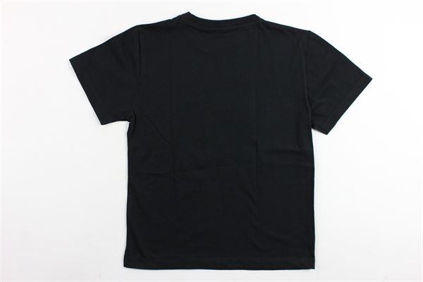 t-shirt mezza manica in cotone con stampa aquila BOY LONDON | T-shirts | TSBL9125JNERO