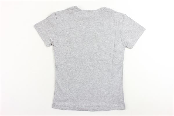 t-shirt mezza manica tinta unita stampa brian rush BRIAN RUSH | T-shirts | 1745GRIGIO