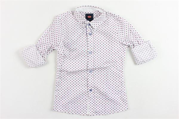 camicia manica lunga microfantasia BUGATTI | Camicie | BNJF7204CABIANCO