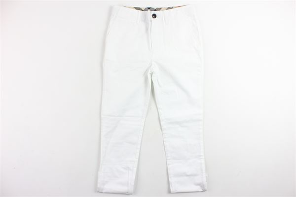 BURBERRY | Trousers | 4009274BIANCO