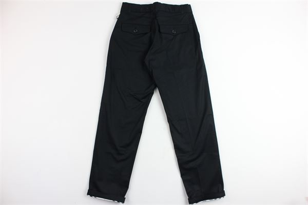 pantalone tinta unita tasca america BURBERRY | Pantaloni | B24302NERO