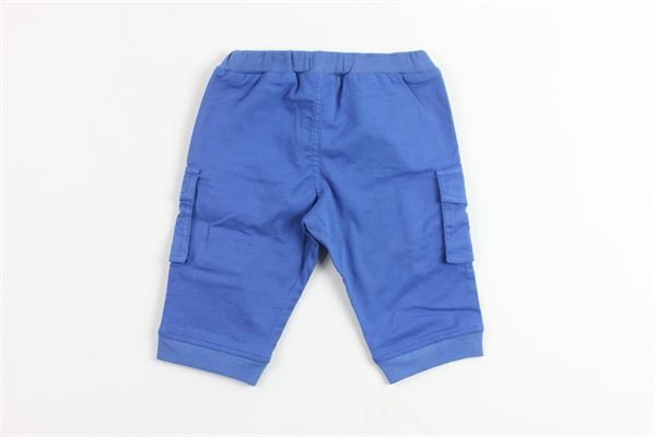pantalone tinta unita con tasconi BURBERRY | Pantaloni | B9439387ACOBALTO