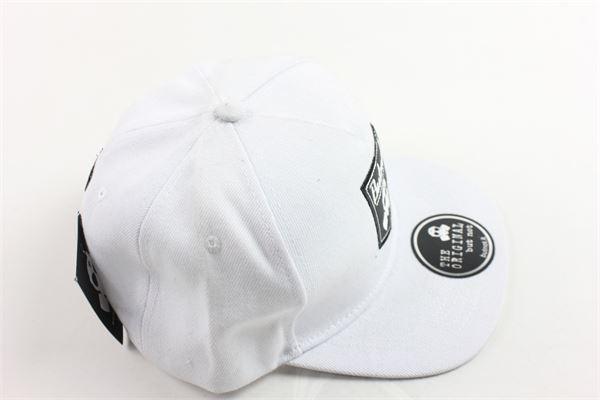 cappello modello berretto con stampa BUTNOT | Cappelli | 905BIANCO