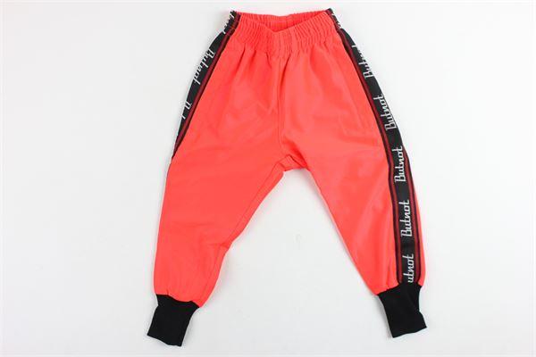 pantalone triacetato fluo BUTNOT | Pantaloni | B901ARANCIO