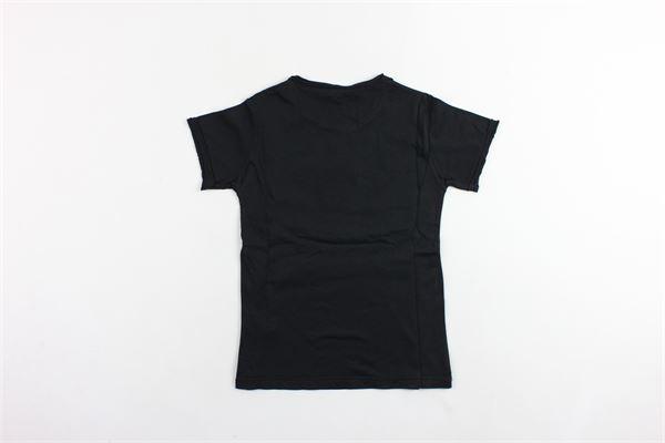 t-shirt mezza manica tinta unita con stampa BiSIBIGLIO | T-shirts | SUPERNERO