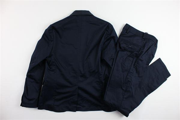 completo cerimonia giacca più pantalone tinta unita CF12 MILANO | Completi | AB0112BLU