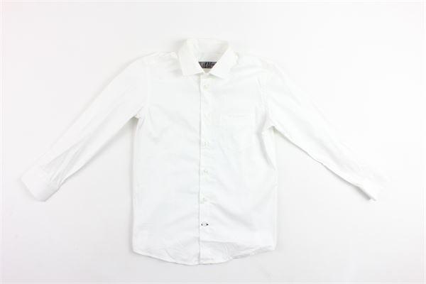camicia manica lunga tinta unita in cotone CF12 MILANO | Camicie | CAMICIACF12MILANO1BIANCO