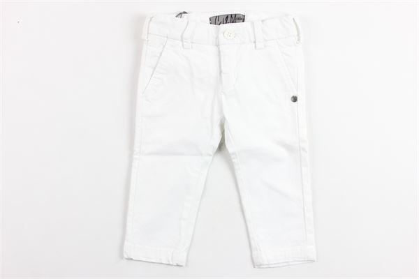 pantaloni tinta unita tasca america girovita regolabile CF12 MILANO | Pantaloni | CF090BIANCO