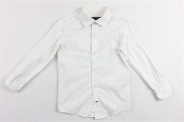 camicia manica lunga tinta unita in cotone CF12 MILANO | Camicie | CMC219BIANCO