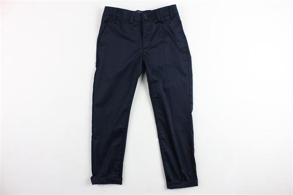 pantalone tinta unita tasca america CF12 MILANO | Pantaloni | PKB151BLU