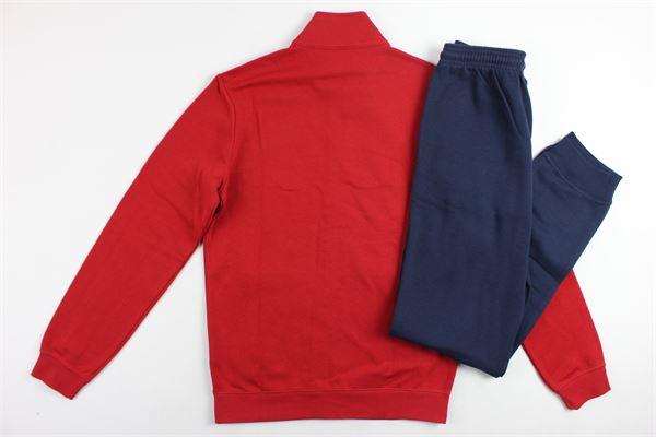completo tuta felpa più pantalone con stampa CHAMPION | Completi | 304521ROSSO