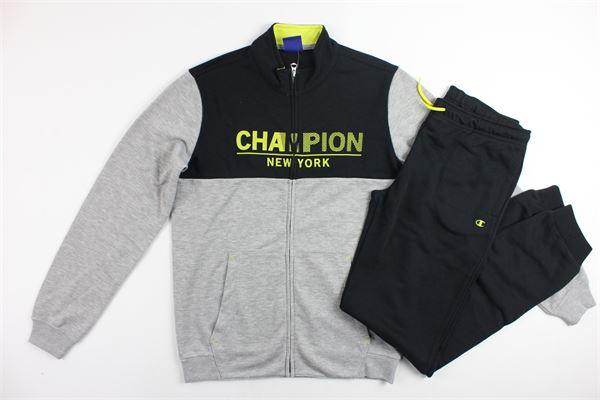 completo tuta felpa più pantalone CHAMPION | Completi | 304662GRIGIO
