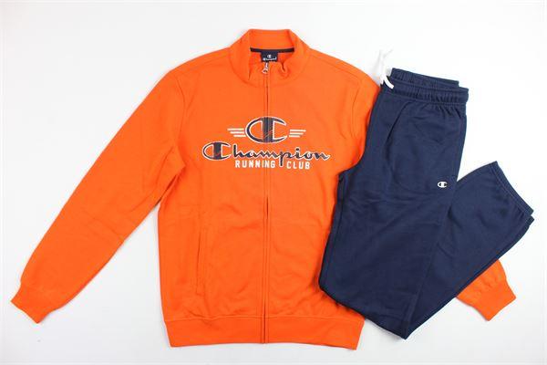completo tuta felpa più pantalone CHAMPION | Completi | 304912ARANCIONE