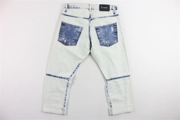 jeans 5 tasche stinto con strappi D-DUCK | Jeans | JEMALTABIGBIANCO