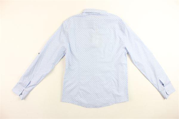 DAMPER DAN | Shirts | D82155-124AZZURRO