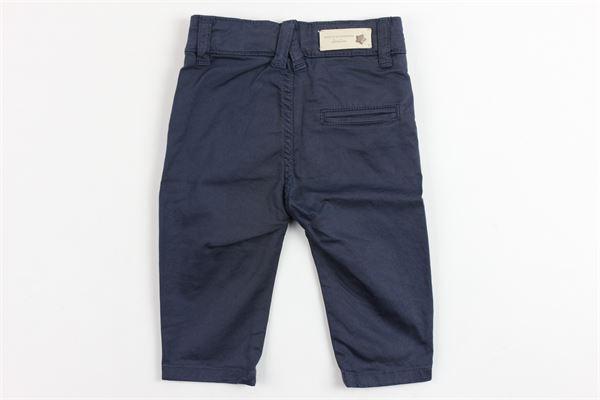pantalone tinta unita tasca america DANIELE ALESSANDRINI | Pantaloni | DA95P0034BLU