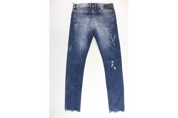 jeans 5 tasche con strappi DIESEL   Jeans   00J3A4BLU
