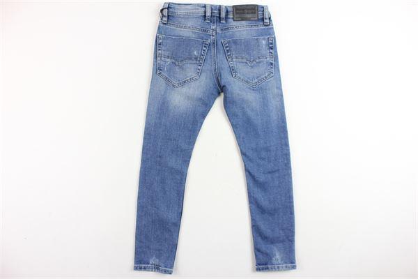jeans 5 tasche con strappi DIESEL | Jeans | 00J3RKKXA25BLU