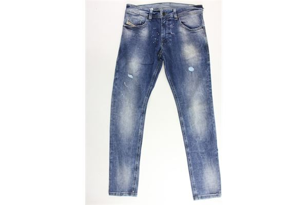 jeans 5 tasche con strappi DIESEL | Jeans | 00J3RNBLU