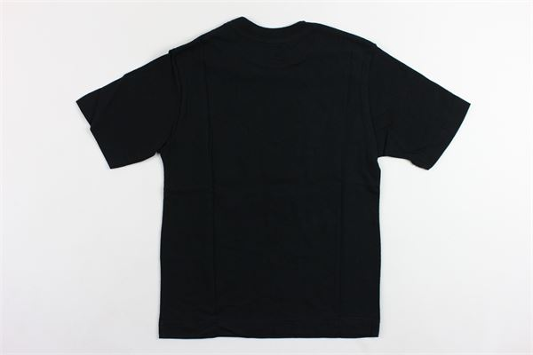 t-shirt mezza manica tinta unita con stampa DIESEL | T-shirts | 00J47UNERO