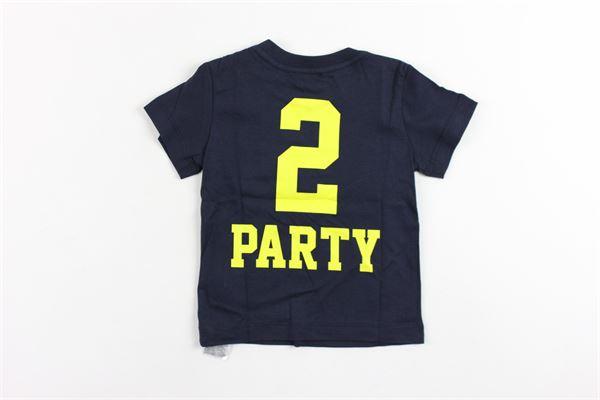 t-shirt mezza manica tinta unita con stampa DIESEL | T-shirts | 00K1R9BLU