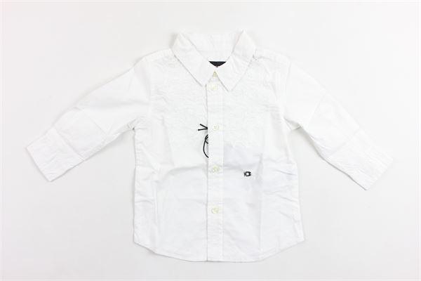 camicia manica lunga tinta unita DIESEL | Camicie | 00K1RGKXAXHBIANCO