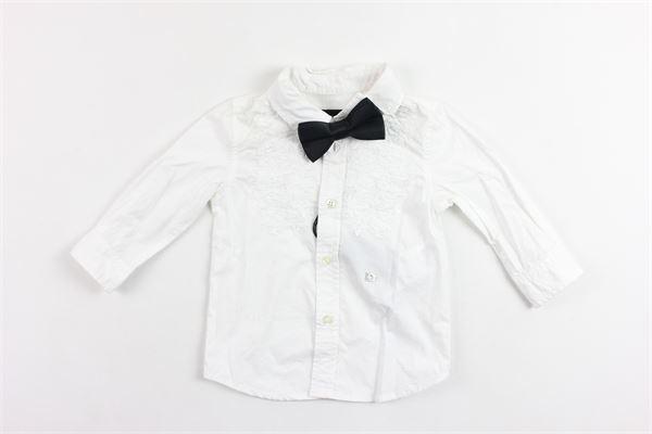 camicia manica lunga tinta unita con papillion DIESEL | Camicie | OOK1RGBIANCO