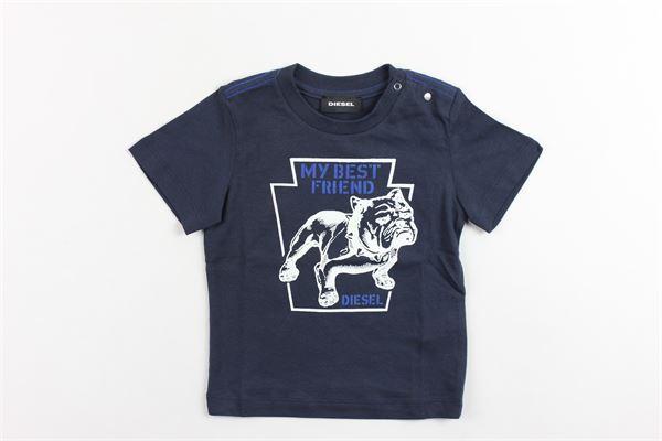 t-shirts mezza manica con stampa DIESEL | T-shirt | TSHIRTSDIESEL1BLU